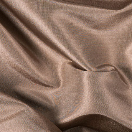 Light Brown Silk Taffeta Fabric-6550