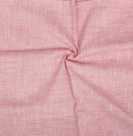Light Pink Filafil Samray Handloom Cotton Fabric-40072