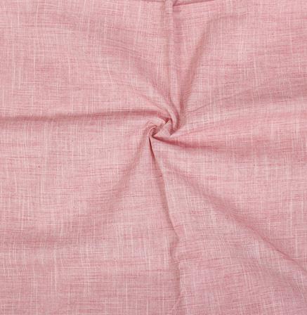 Light Pink Filafil Samray Handloom Cotton Khadi Fabric-40072