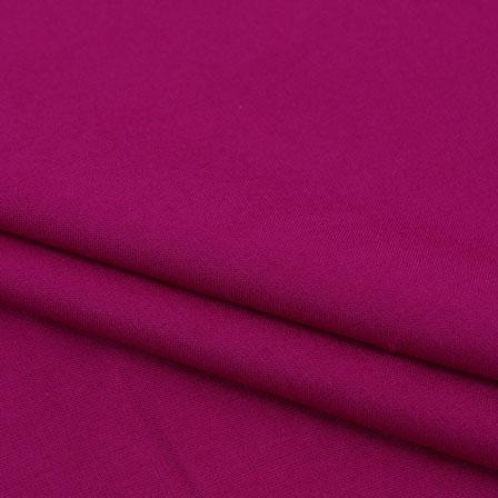 Rayon Shirt (2.25 Meter)-Magenta Pink Plain Khadi Rayon Fabric-40693