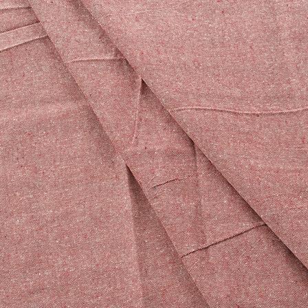 Maroon Cotton Handloom Fabric-40168
