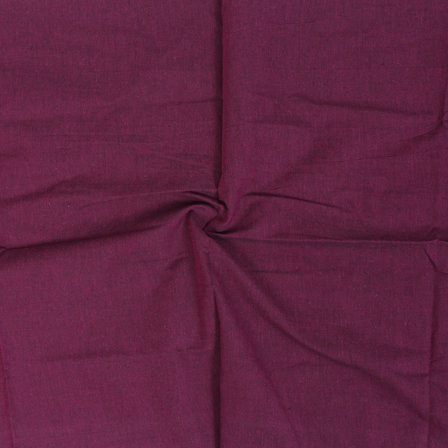 Maroon Cotton Samray Handloom Fabric-40065