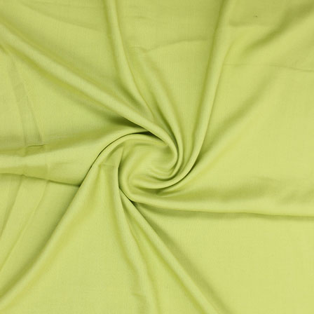 Mint Green Plain Khadi Rayon Fabric-40700