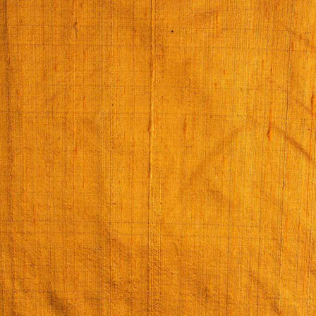 Mustard Dupion Silk Running Fabric-4872