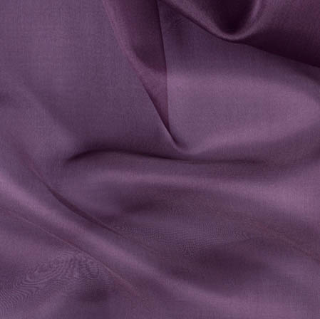 Navy Blue Plain Organza Silk Fabric-51778