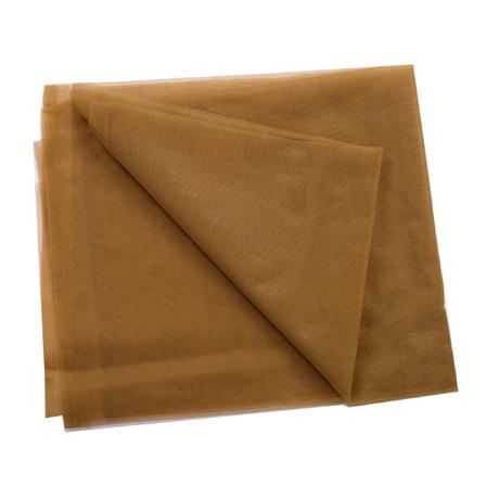 Olive Green Plain Net Fabric-60190