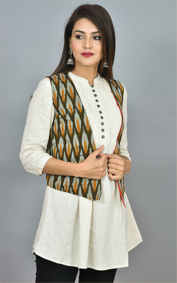 /home/customer/www/fabartcraft.com/public_html/uploadshttps://www.shopolics.com/uploads/images/medium/Olive-Green-White-and-Orange-Ikat-Cotton-Koti-Jacket-36266.jpg