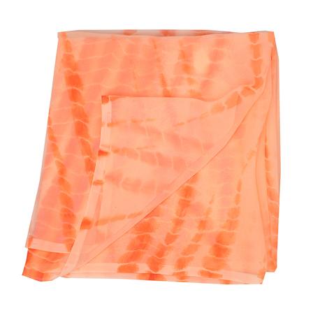 Orange Chiffon Georgette Fabric-29025