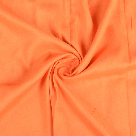 Orange Cotton Handloom Fabric-40284