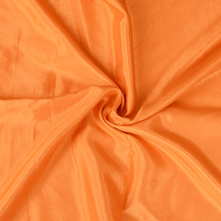 Orange Plain Santoon Fabric-65022