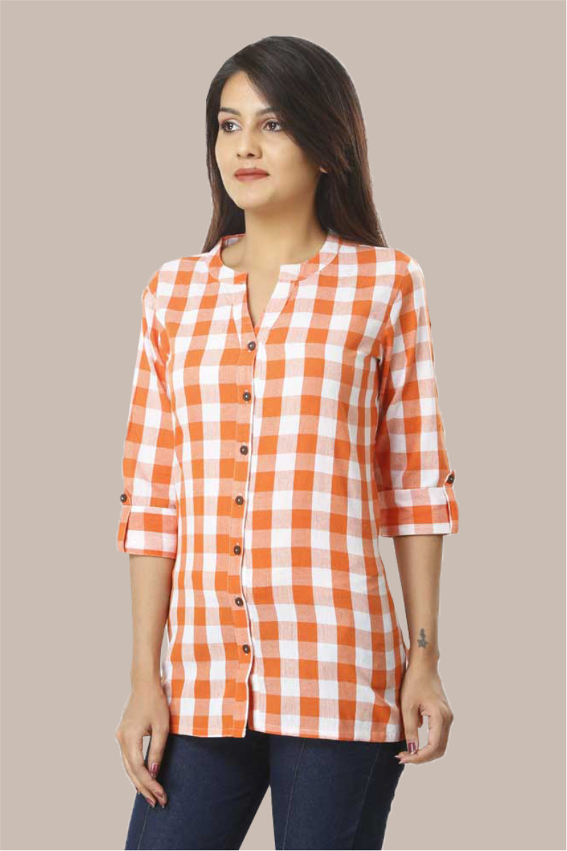 /home/customer/www/fabartcraft.com/public_html/uploadshttps://www.shopolics.com/uploads/images/medium/Orange-White-Checks-34-Sleeve-Cotton-Women-Shirt-33697.jpg