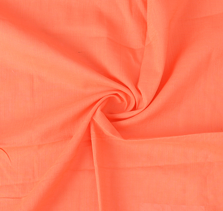 Peach Cotton Handloom Fabric-40201
