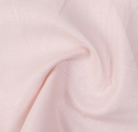 Peach Plain Indian Linen Fabric-SD90041