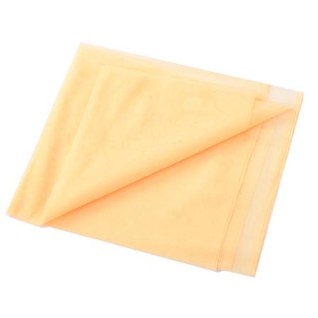 Peach Plain Net Fabric-60178