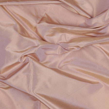 Peach Soild Silk Taffeta Fabric-6562