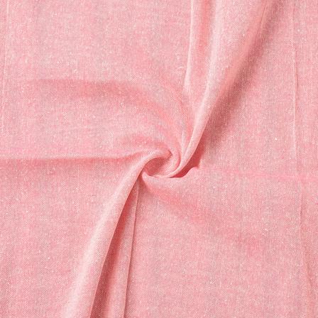 Pink Cotton Handloom Fabric-40162