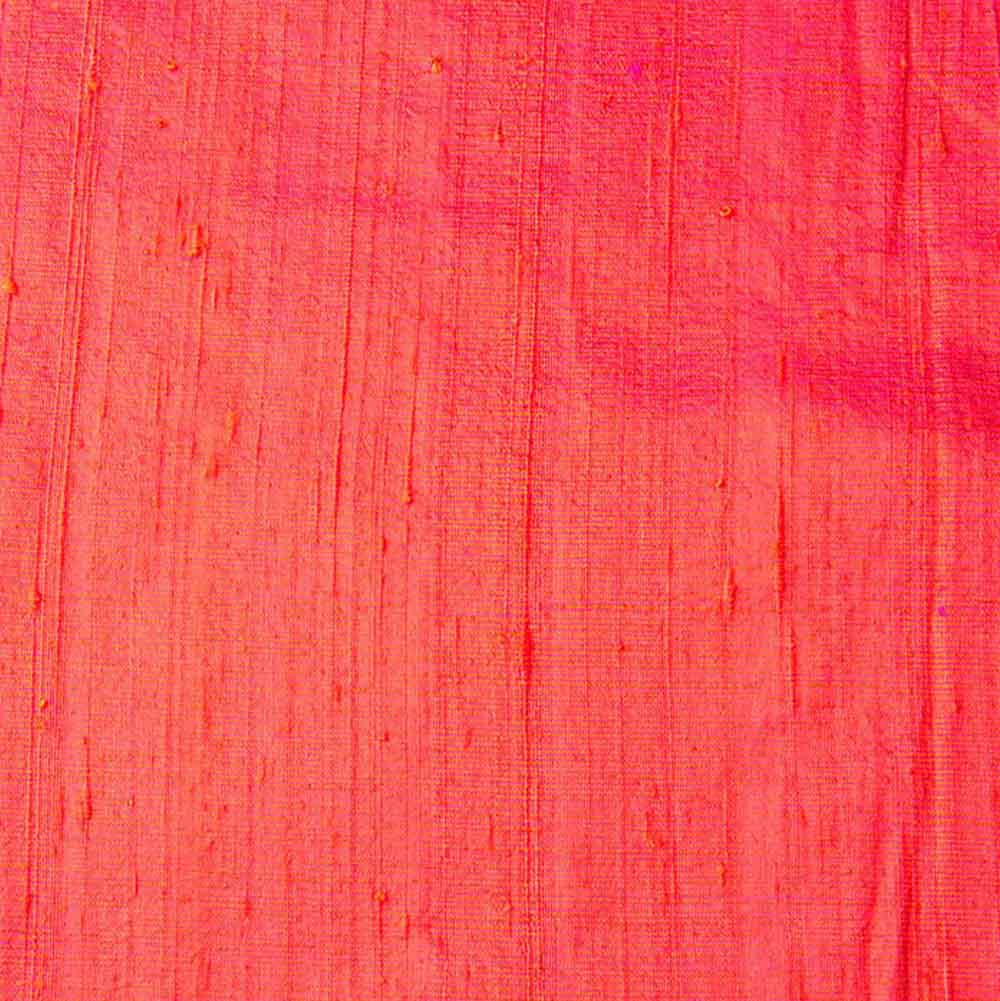 Pink Dupion Pure Raw Silk Fabric