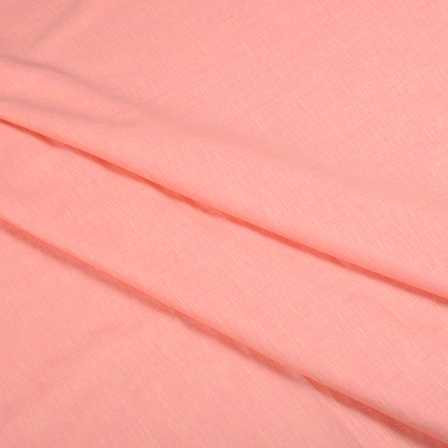 Pink Cotton Linen Shirt Fabric-90055