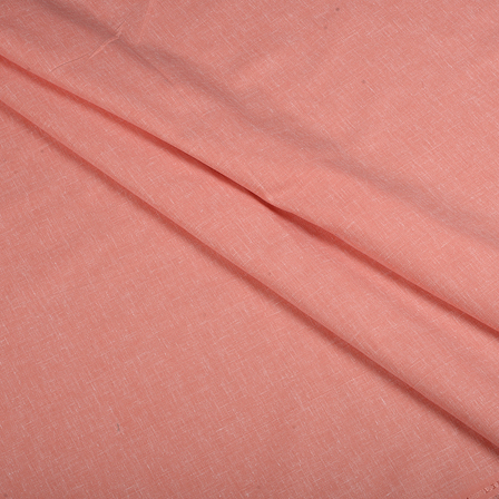 Pink Cotton Linen Shirt Fabric-90059