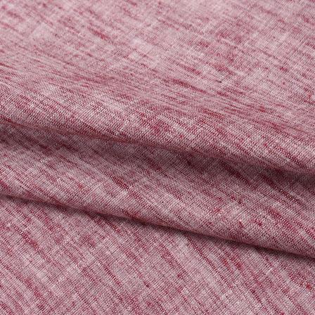 Cotton Shirt (2.25 Meter)-Pink Plain Handloom Khadi-140658
