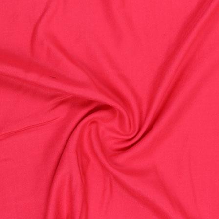 Pink Plain Rayon Fabric-40703