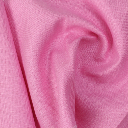 Pink Plain Linen Fabric-SD90036