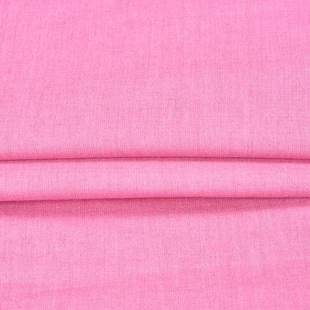 Pink Plain Linen Fabric-90150