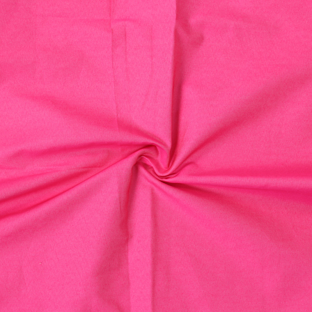 Pink Poly Denim Handloom Cotton Khadi Fabric-40107