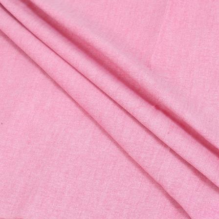 Pink Samray Handloom Cotton Khadi Fabric-40094
