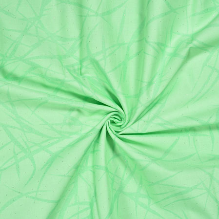PistaGreen PistaGreen Abstract Jam Cotton Print Fabric-28194