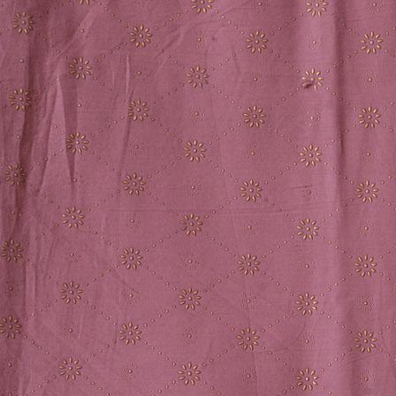 Purple Golden Polka Jam Cotton Fabric-15152