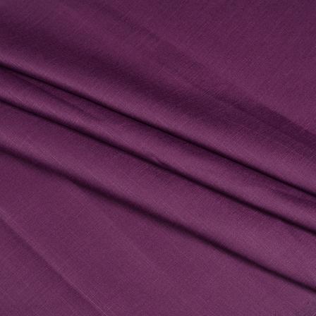 Khadi Shirt (2.25 Meter) Fabric-Purple Handloom Cotton -140376
