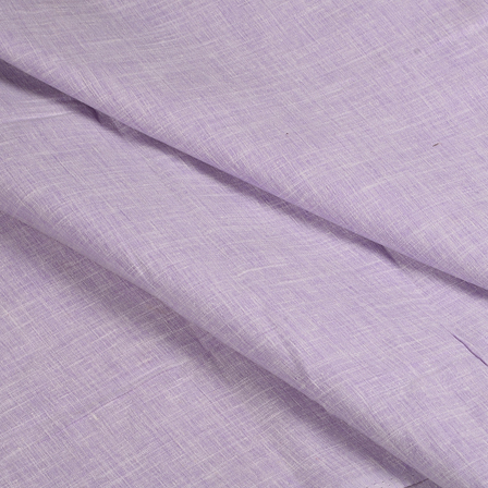 Purple Cotton Linen Shirt Fabric-90051