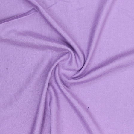 Purple Plain Rayon Fabric-40697