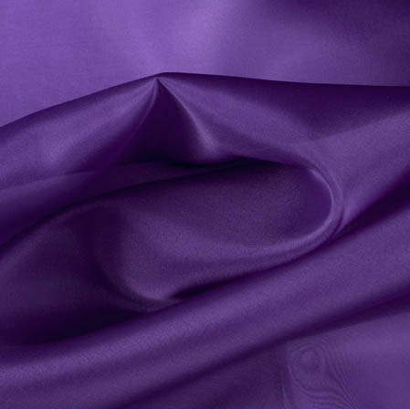 Purple Plain Organza Silk Fabric-51789
