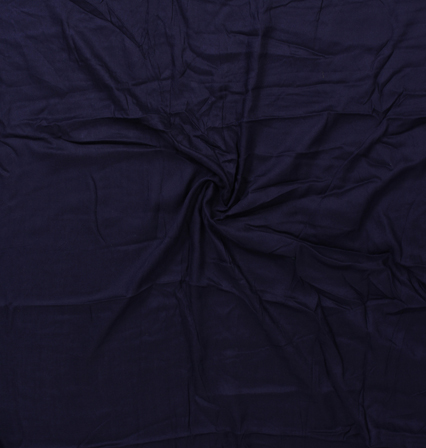 Purple Plain Rayon Handloom Fabric-40100