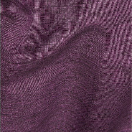 Purple Plain Indian Linen Fabric-GN90046