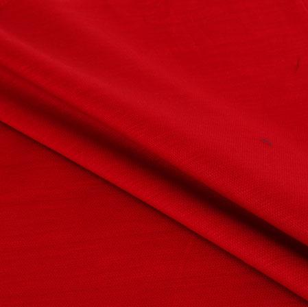 Men Unstitched Trouser (1.3 MTR)-Red Cotton Fabric-42066