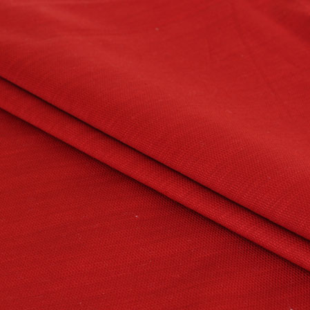 Men Unstitched Trouser (1.3 MTR)-Maroon Cotton Fabric-42067