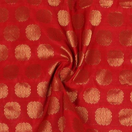 /home/customer/www/fabartcraft.com/public_html/uploadshttps://www.shopolics.com/uploads/images/medium/Red-Golden-Circle-Brocade-Silk-Fabric-9205.jpg