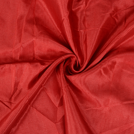 Red Plain Santoon Fabric-65025