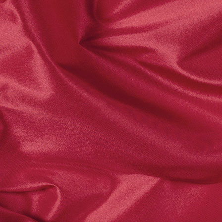 Red Silk Taffeta Fabric-6522
