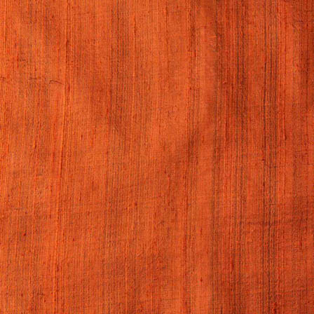 Rust Dupion Silk Running Fabric-4885