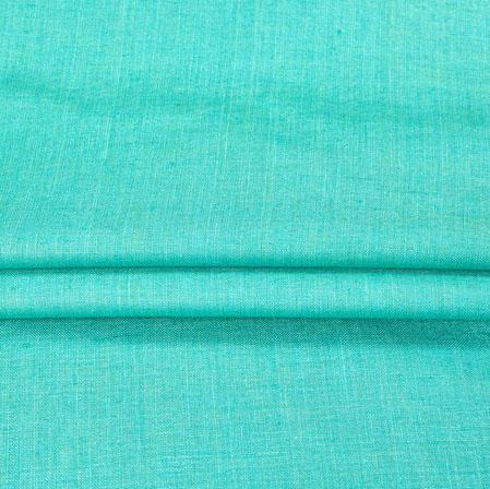 Linen Shirt (1.6 MTR)-SeaGreen-90144