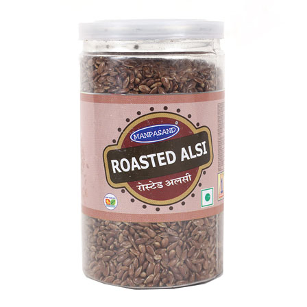 Set of 2 Roasted Alsi Mukhwas Jar-55014