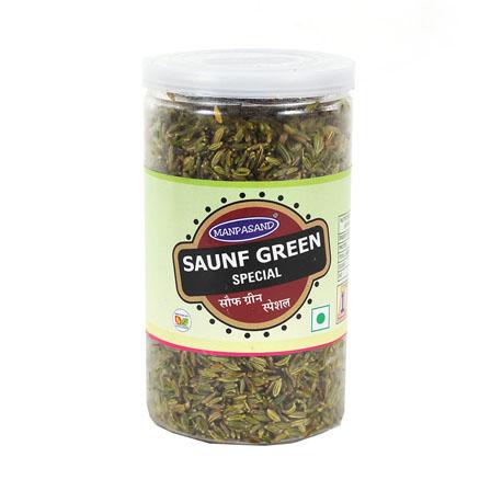 Set of 2 Saunf Green Jar-55026