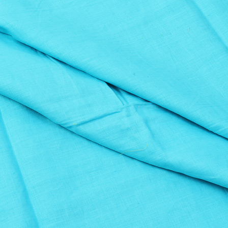 Linen Shirt (1.6 Meter) Fabric- Sky Blue Plain-90030