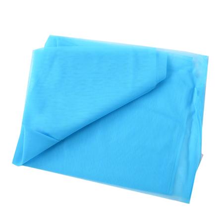 Sky Blue Plain Net Fabric-60176