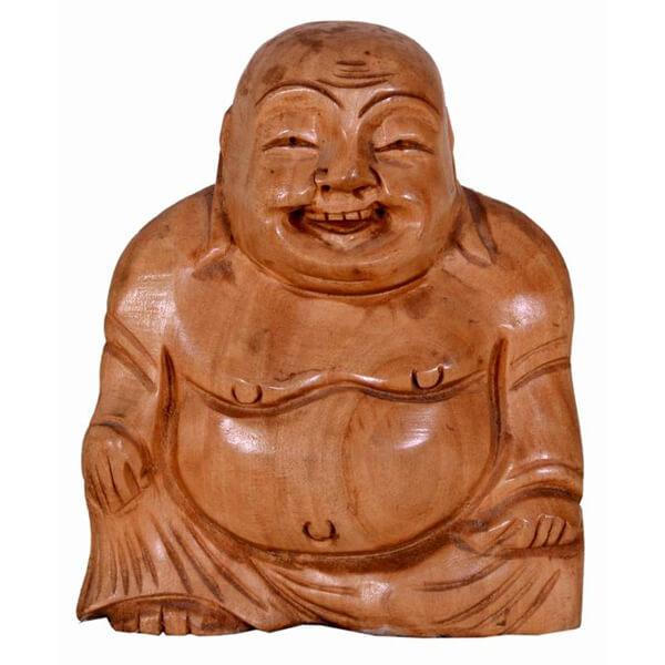 Small Laughing Budha Statue