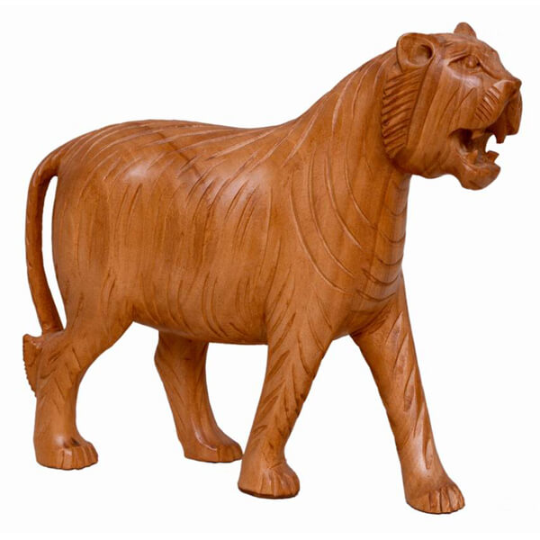 Teak Wood brown Tiger